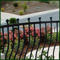 Wrought Iron Railings Laguna