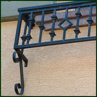 Sutter Creek, Ornamental Iron