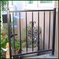 Wrought Iron Fence, Sutter Creek